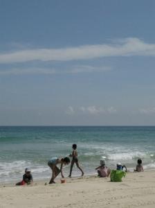 BLR Kids on Beach
