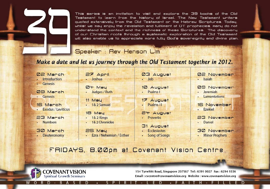 Learn the Old Testament in Just a Few Hours