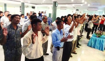 Pastors Altar Call