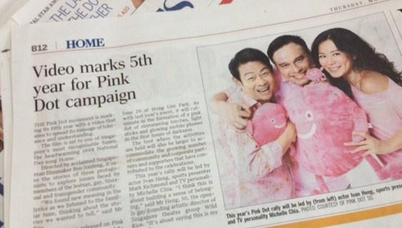 Pink Dot Article