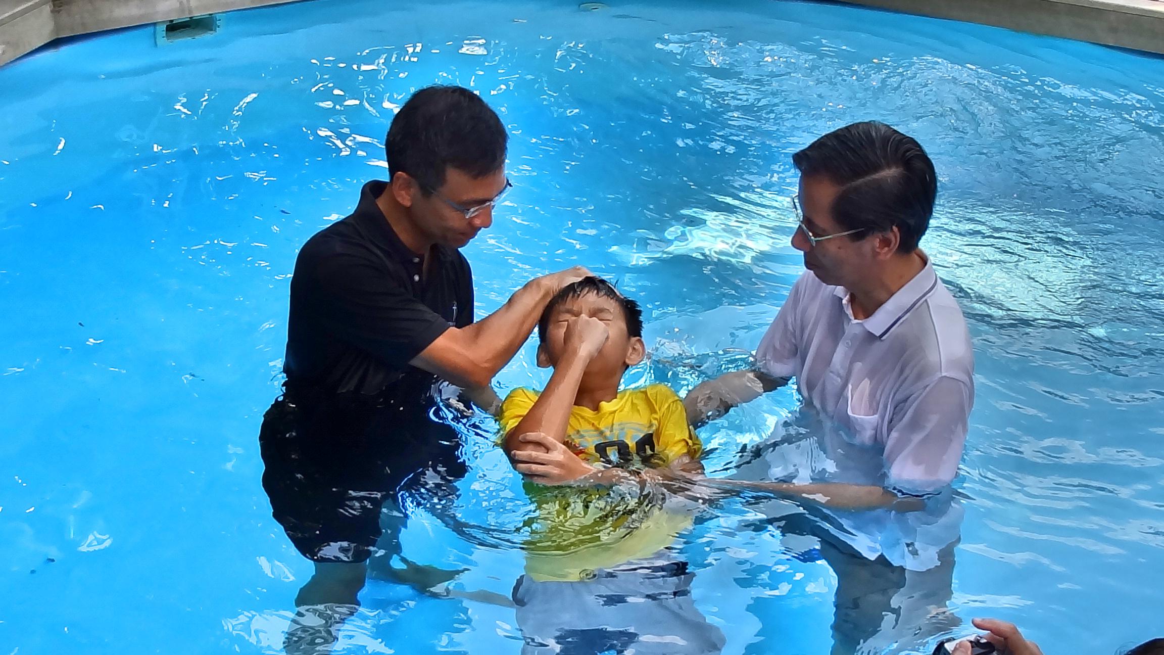 Aaron Baptism_Fotor