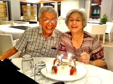 Dad&Mom 50thAnniversary ClubMed