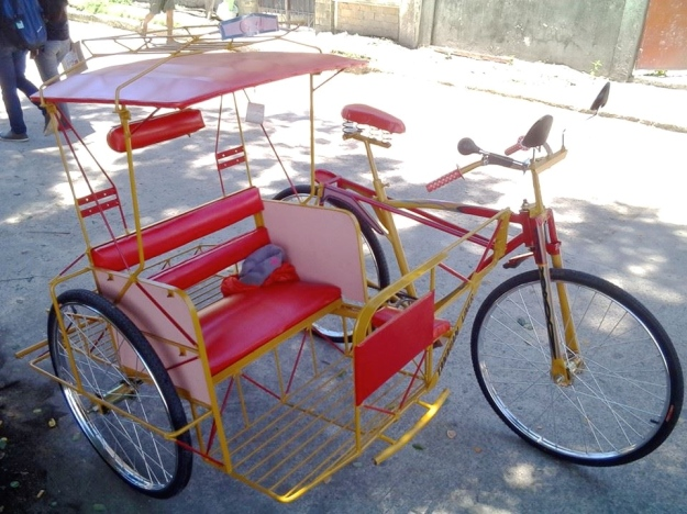 Sample of Pedicab that will enable members to earn a living.