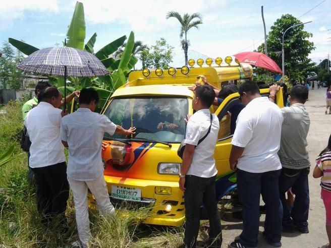 Dedication of Church Van